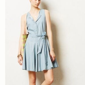 Heartloom (anthro) denim dress